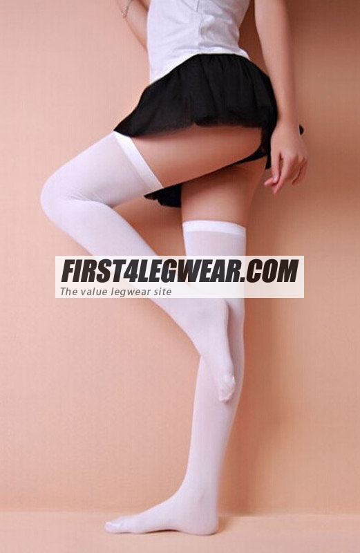 F4L 1010 Opaque Thigh-Highs