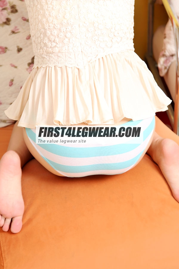 F4L 355 'Shima-pantsu' Striped Panties