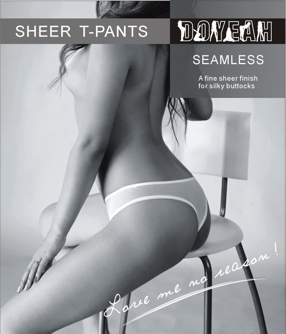 Doyeah 5237 Seamless Sheer Briefs