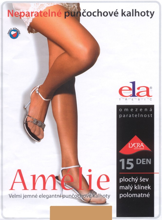 ELA Amelie Ladder-resistant Sheer Tights