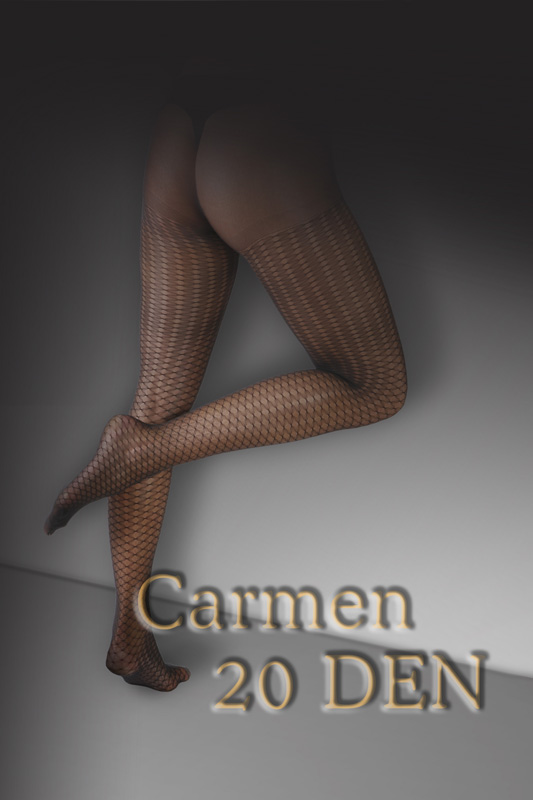 ELA Carmen Patterned Sheer Tights