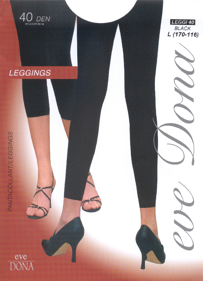 Evona Leggi 40 Footless Tights