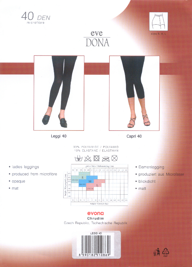 Evona Capri 40 Capri Tights