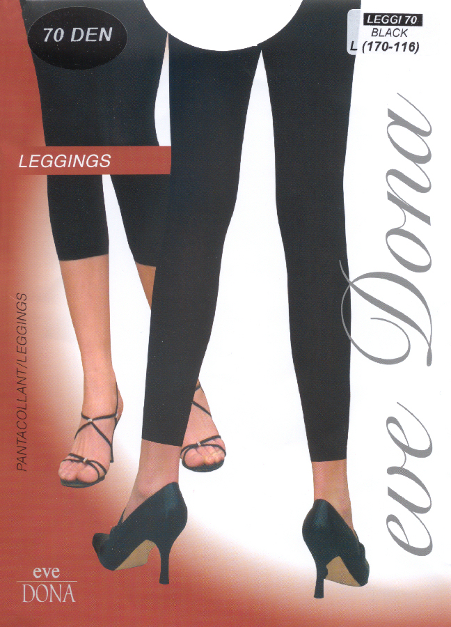 Evona Leggi 70 Footless Tights