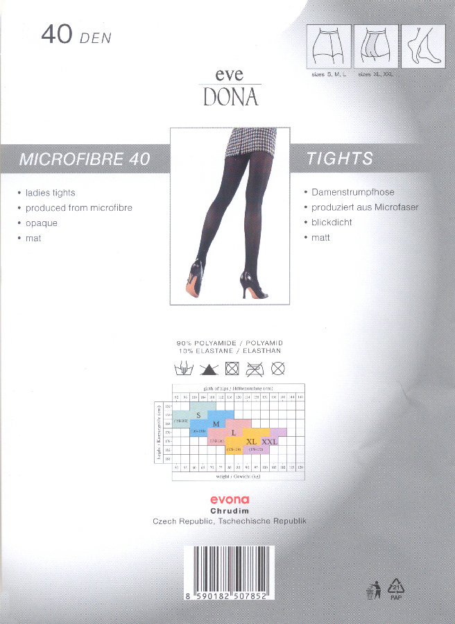 Evona Micro 40 Opaque Tights