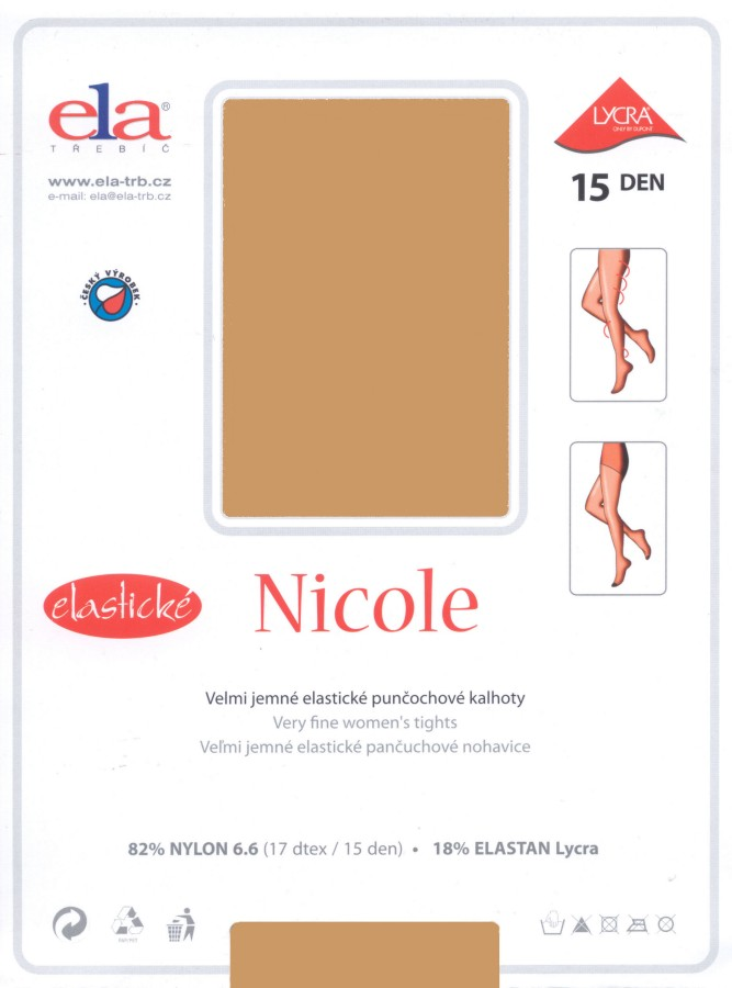 ELA Nicole Luxury Sheer Tights