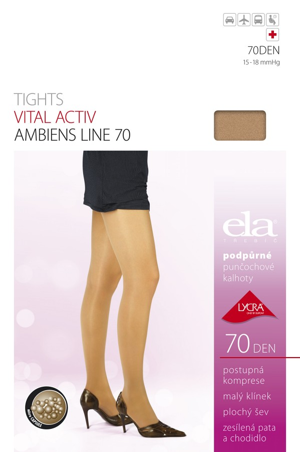 ELA Vital Activ 70 Support Tights